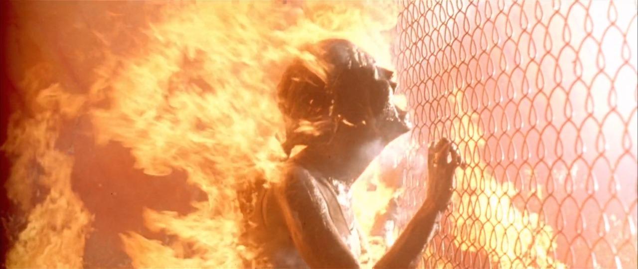 calor hasta quemar