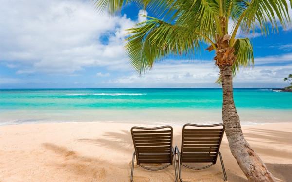 playas llenas de calma